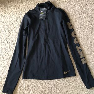 NWT Nike Pro Warm Long Sleeve Pullover